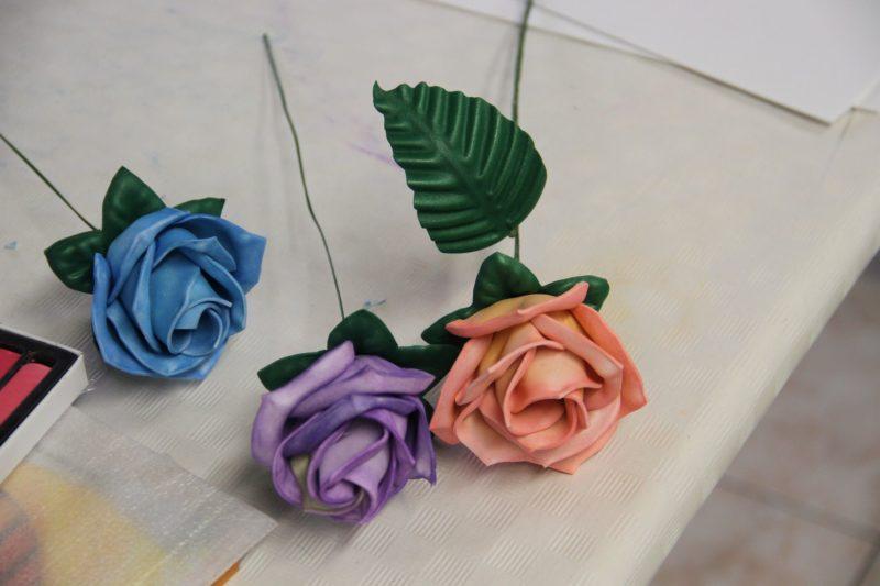 Tutorial Cómo hacer flores termomodeladas con Goma Eva o foamy