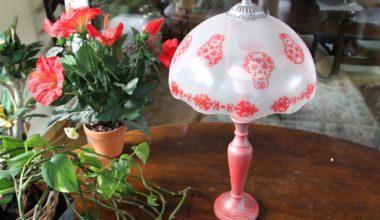 Tutorial Eco-DIY Recicla una lámpara con pintura para cristal DecoArt