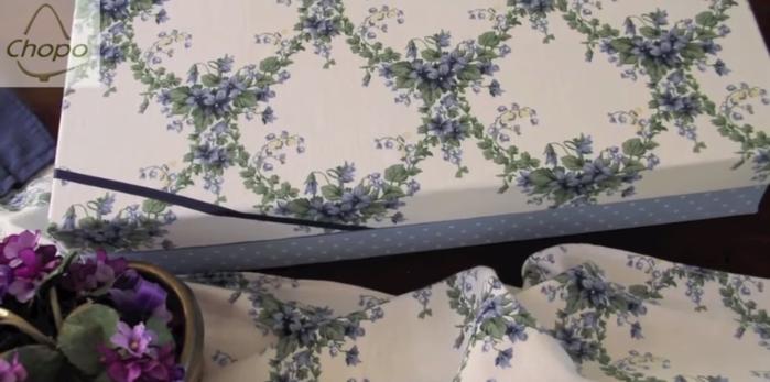 Tutorial Reciclando telas con pintura Chalky y tela autoadhesiva