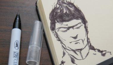 Cursos de Lettering y Manga con Kuretake en Artesanía Chopo