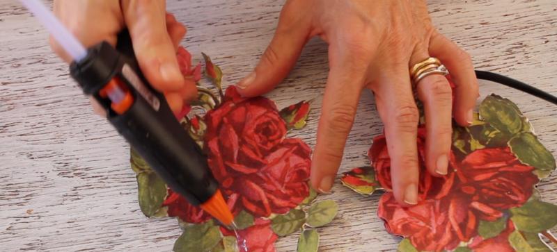 Paso a paso – Nueva técnica con flores 3D de Calambour