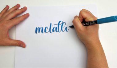 Taller de lettering avanzado con los rotuladores KuretakeZig en Madrid