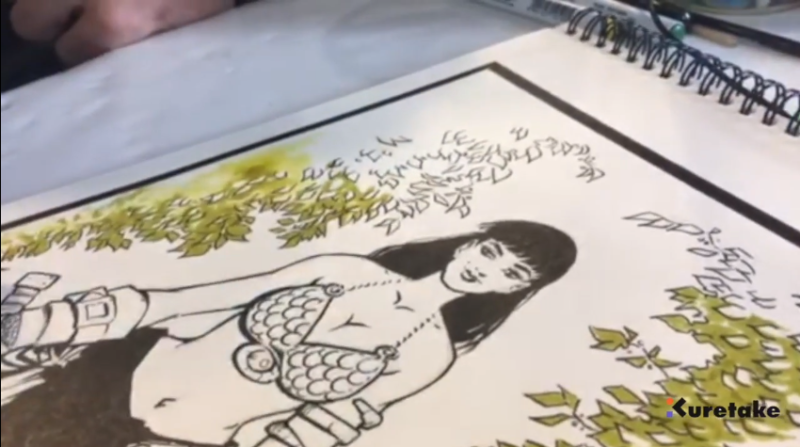 Ventajas de trabajar con Kuretake para Ilustración, Marcos Díaz