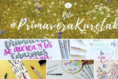 ¡¡Ampliamos el reto de primavera Kuretake hasta el 31 de marzo!!
