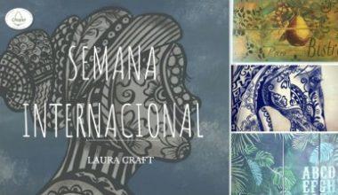 Clase Magistral con Laura Craft, Técnicas Creativas en Acrílico