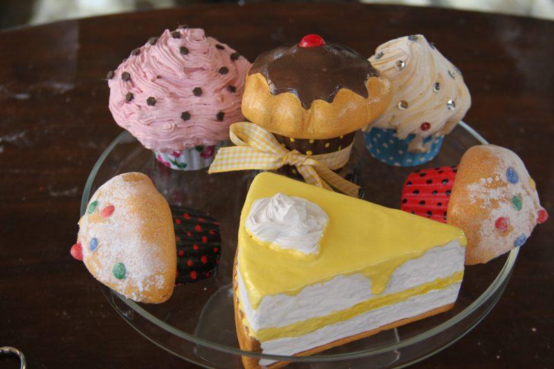 Cómo hacer cupcakes de porex para decoración ¡parecen reales! (Tercera parte)