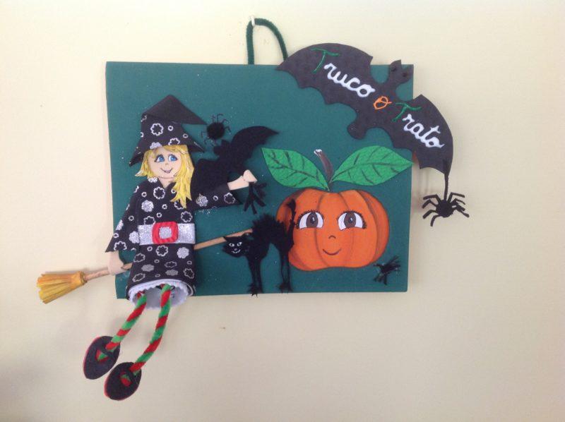 Cómo hacer un cartel DIY de foamy con los niños para Halloween