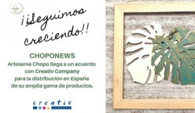 Creativ Company llega a España de la mano de Artesanía Chopo