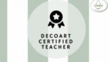 DecoArt Spain Certified Teacher