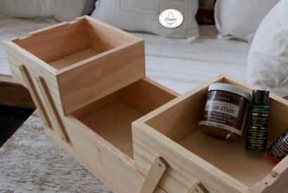 Reciclando una pieza de madera para darle un nuevo uso con Decoart