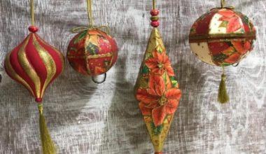 Taller de decoración de Navidad
