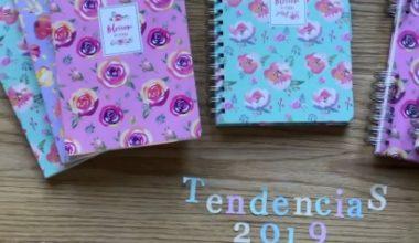 Tendencias scrapbooking 2019 nuevos cuadernos y agendas