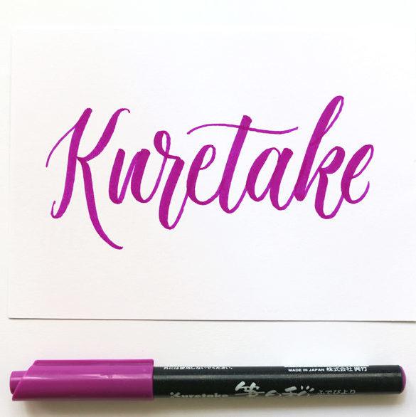 Reto de Lettering Kuretake Chopo